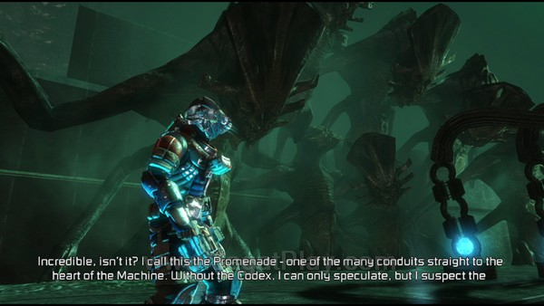 """Lewat memori sebuah alien asing bernama """"rosetta"""", isaac dibawa"""
