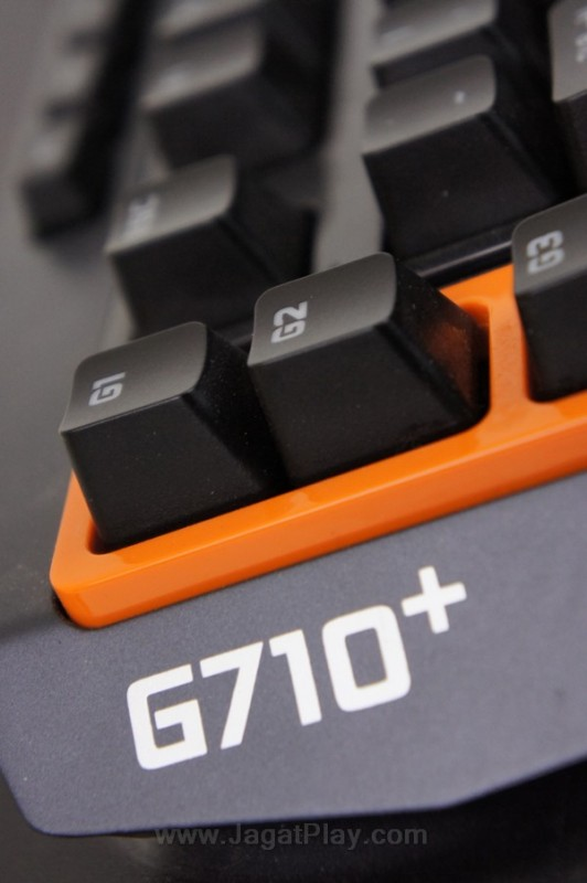 Logitech G710+ mechanical keyboard