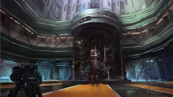 """Obsidian menyebut Backspace ini tak ubahnya """"Skyrim versi Sci-fi"""", yang juga menyuntikkan elemen sekelas Mass Effect, Borderlands, dan System Shock 2 di dalamnya."""
