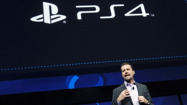 Andy House, Sony president, introducing PS4