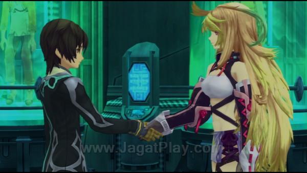 Berbeda dengan seri-seri Tales sebelumnya, plot Xillia berputar di sosok dua tokoh protagonis utama - Jude Mathis dan Milla Maxwell.