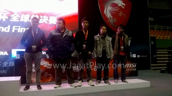 Tim LZ dari Malaysia.