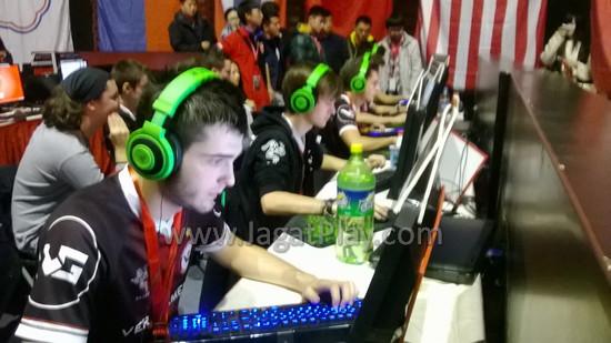 Tim kuat dari Perancis, , yang menjadi salah satu favorit di turnamen ini,