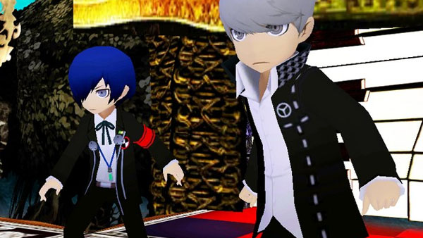 Persona Q: Shadow of Labyrinth.. Kawaiiiiiii....