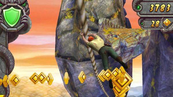 Temple Run - game mobile fenomenal dan adiktif dikabarkan akan menuju layar lebar, di bawah arahan produser Harry Potter - David Heyman.