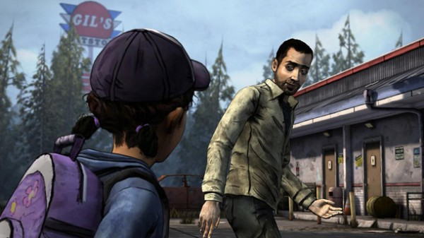 Screenshot terbaru yang dirilis Telltale memperlihatkan kembalinya karakter dari Season 1 - Omid, sekaligus menjadi konfimasi kita akan berperan sebagai Clem.