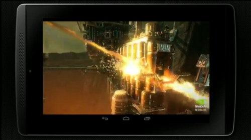 Tampilan Game yang berjalan di Nvidia Tegra K1