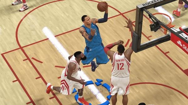 Berbeda dengan versi Xbox 360, Playstation 3, dan PC, NBA 2K14 versi Playstation 4 dan Xbox One diperkuat dengan engine terbaru Visual Concepts - Eco-Motion.