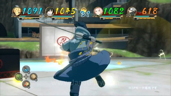 Narutimate NInja Storm REvolution Trailer 2 (10)