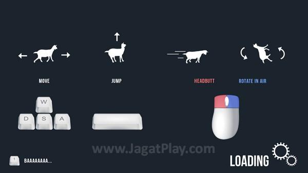Sistem kontrol si kambing terhitung sangat sederhana. Tenang saja, Anda tidak butuh kombinasi atau timing gerakan kompleks.