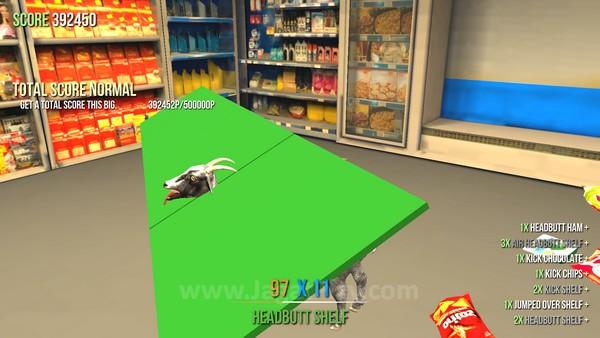 Di Goat Simulator, bug adalah fitur!
