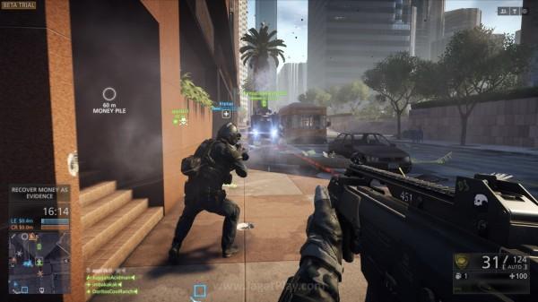 """Menanggapi tuduhan sebagai """"mod Battlefield 4"""", Visceral menegaskan bahwa versi beta Hardline hanyalah sedikit dari apa yang akan mereka tawarkan di versi final nanti."""