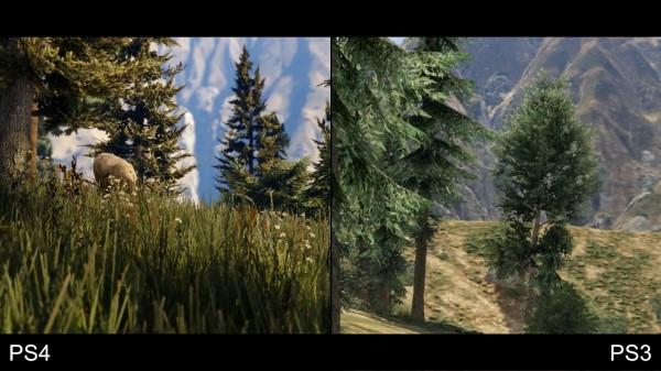 GTA 5 Graphics Comparison: PS3 VS PS4 | GTA 5 Cars