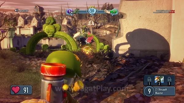 Beragam ekstra efek visual lain yang dipresentasikan dengan manis, membuat Garden Warfare mampu bersaing dengan visual game rilis terkini, memperkuat citranya sebagai game untuk platform generasi terbaru.
