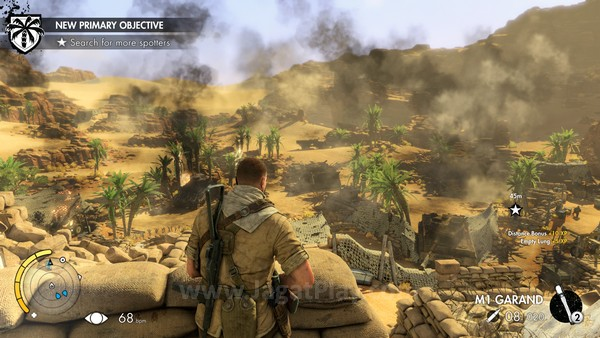 Medan pertempuran seperti apa yang harus dijalani oleh Fairburne? Senjata seperti apa yang tengah dipersiapkan Jerman? Semua hal ini bisa Anda jawab dengan memainkan Sniper Elite 3 ini.