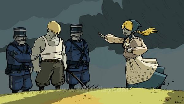 Anda berperan sebagai empat karakter: Karl - seorang prajurit Jerman, Emile - seorang prajurit Perancis, Freddie - warga Amerika Serikat yang ikut terlibat, dan Anna - seorang pelajar dari Belgia yang juga berperan sebagai palang merah.
