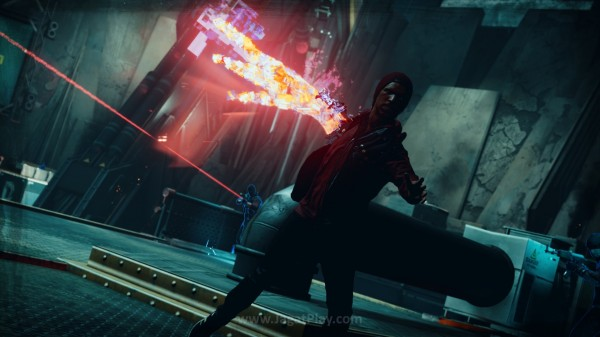 Untuk Anda yang memiliki Infamous: Second Son, Delsin juga bisa digunakan di Battle Arena ini.