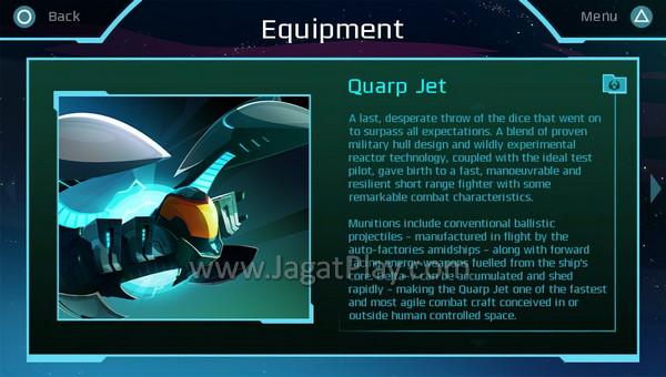 Quarp Jet, kendaraan super dengan senjata mematikan dan kemampuan teleportasi.
