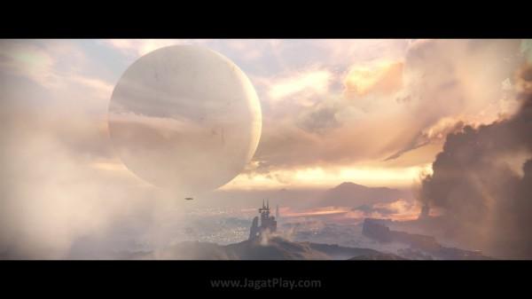 Objek bola berbentuk raksasa berwarna putih ini disebut sebagai - The Traveler. Sumber dari peradaban emas manusia, sekaligus sumber masalah yang tidak kalah katastropik.