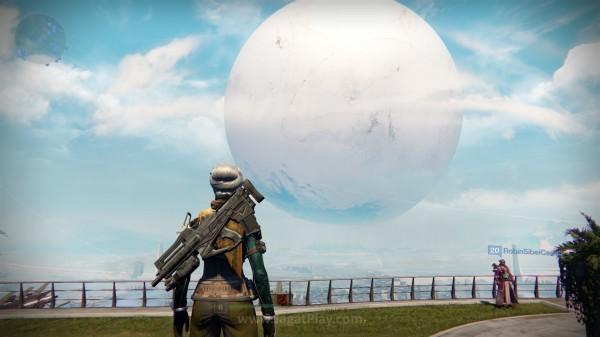 Menggunakan kekuatan terakhir yang dimilikinya, The Traveler membangun tempat aman bagi garis terakhir pertahanan manusia setelah event The Collapse.