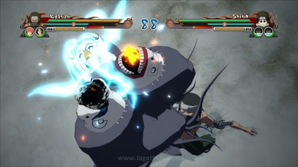 Permainan palet warna lah yang menjadi kunci visual Storm Revolution yang memukau.