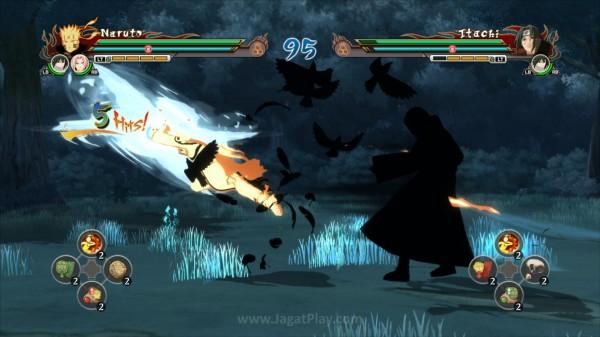 Secara garis besar, mekanik pertarungan yang ditawarkan Storm Revolution tidak banyak berbeda dibandingkan seri-seri Narutimate sebelumnya.
