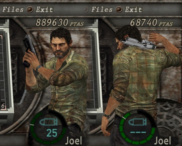 re 4 the last of us mod1