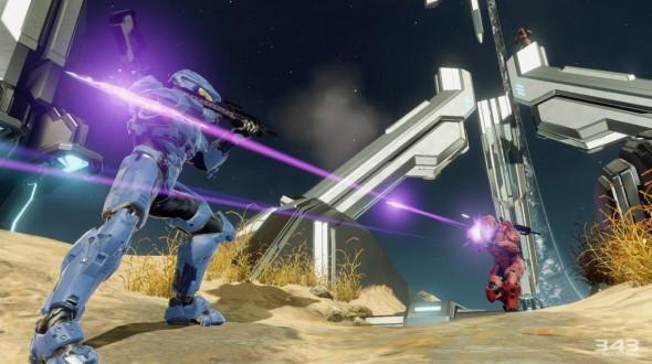 """Tertarik menikmati Halo: Master Chief Collection sejak hari pertama rilis? Bersiaplah untuk mengunduh update pertama sebesar 20 GB terlebih dahulu. Data sebesar ini bukan patch, melainkan konten """"sisa"""" Halo: MCC yang didistribusikan secara digital setelah 343 Industries menolak untuk merilisnya dalam bentuk disc blu-ray kedua."""