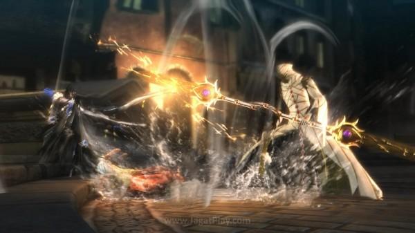 Persinggungannya dengan Loki justru membawa Bayonetta masuk ke dalam pusaran konflik lebih besar. Ia menjadi buruan seorang Lumen Sage misteriuss.