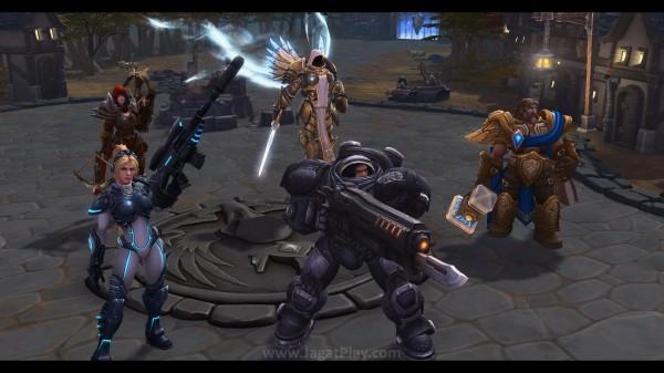 """Sempat disebut sebagai """"DOTA Blizzard"""" di masa lalu, Heroes of the Storm adalah game MOBA yang mempertemukan karakter-karakter unik lintas franchise raksasa Blizzard."""