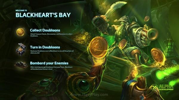 Contoh kedua? Blackheart's Bay!