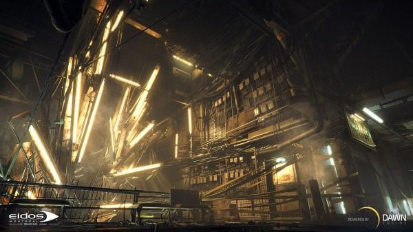 Seri terbaru - Deus Ex Universe yang dibangun dngan engine teranyar - Dawn Engine juga akan diperkuat dengan teknologi TressFX teranyar dari AMD.