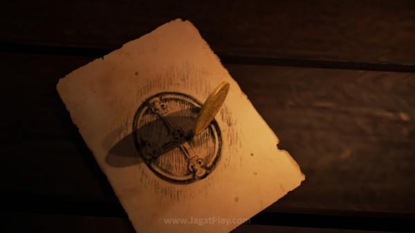 """Namun De Sade punya """"misi terakhir"""" untuk Arno, menemukan sebuah artifak misterius."""