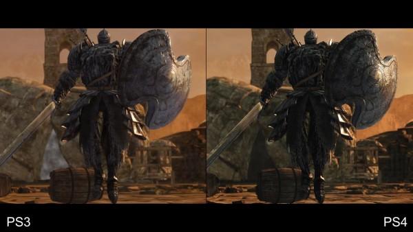 Dark souls 2 - ps 3 vs p4 (1)