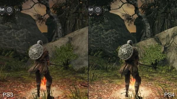 Dark souls 2 - ps 3 vs p4 (10)
