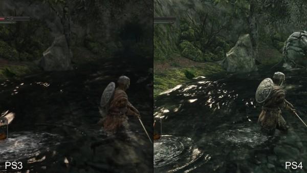 Dark souls 2 - ps 3 vs p4 (16)