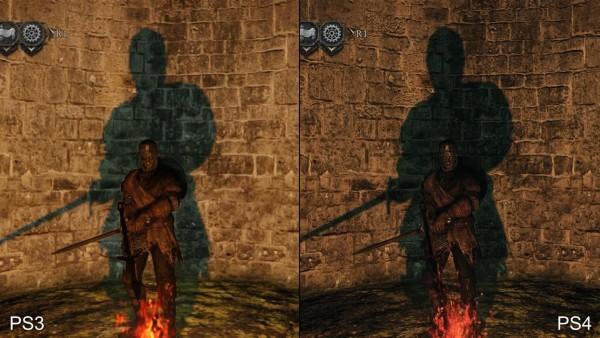 Dark souls 2 - ps 3 vs p4 (2)