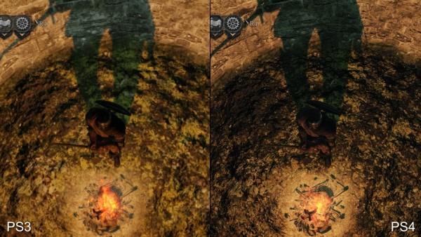 Dark souls 2 - ps 3 vs p4 (3)