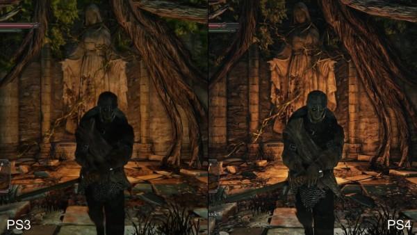 Dark souls 2 - ps 3 vs p4 (4)