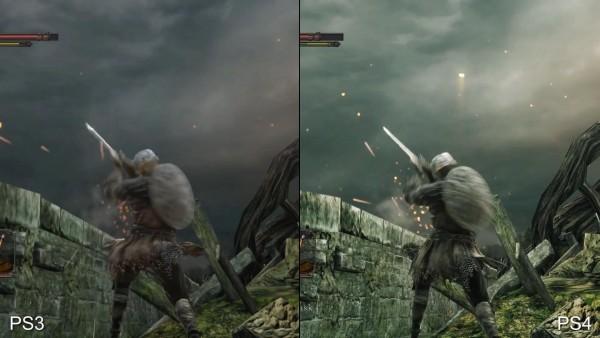 Dark souls 2 - ps 3 vs p4 (7)