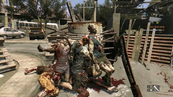 Tidak ingin menyia-nyiakan senjata Anda? Anda bisa saja kembali ke serangan melee, menghancurkan para zombie biasa ini dengan tangan (kaki) kosong. Atau, Anda bisa juga mendorong mereka ke beragam jebakan di peta untuk kematian secara instan. Pile them up!