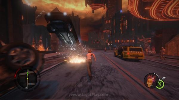 Dipadukan dengan kemampuan berlari super cepat, Anda bisa menjelajahi neraka dengan sangat cepat.