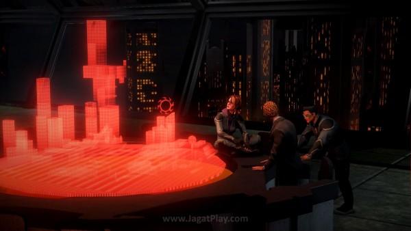 Untungnya, mereka bertemu dengan Vogel - seorang penghuni Neraka yang juga punya ambisi untuk merontokkan kekuatan sang Iblis.