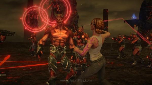 Terlepas dari setting baru yang ditawarkan, mekanik gameplay Saints Row: Gat out of Hell ini tidak banyak berbeda dari seri sebelumnya.
