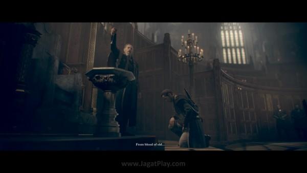 """Namun pondasi eksistensi The Order terletak pada air """"suci"""" - Blackwater yang konon ditemukan oleh King Arthur sendiri. Ia mampu menyembuhkan luka apapun secara instan dan memperpanjang umur anggota The Order."""