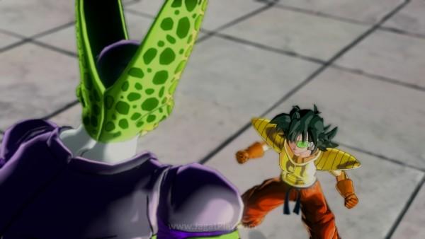 Menarik melihat bagaimana karakter Anda bisa masuk ke dalam saga cerita Dragon Ball itu sendiri.