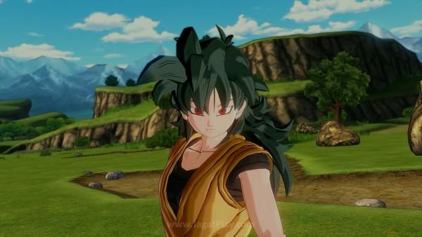 """Anda berperan sebagai """"karakter baru"""" di dalam saga Dragon Ball"""