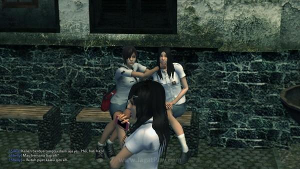 Cerita berkembang melalui cutscene dan percakapan