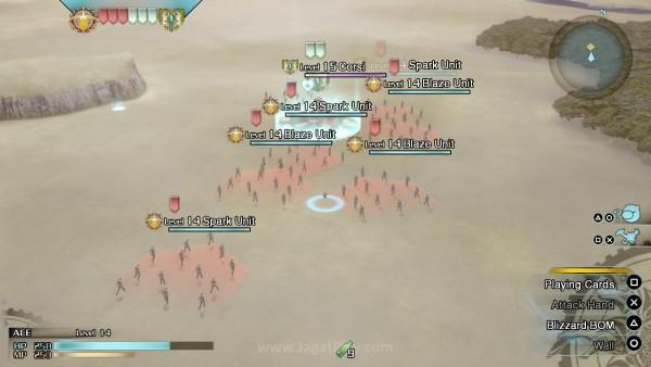 Beberapa momen di dalam game juga mengusung genre RTS di dalamnya.