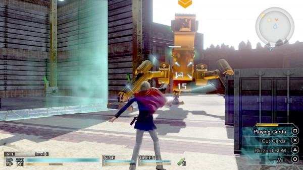 FF Type-0 HD hadir dengan action RPG sebagai genre utama. Anda bisa menyerang, menghindar, dan mengakses skill secara langsung lewat tombol yang sudah disediakan.